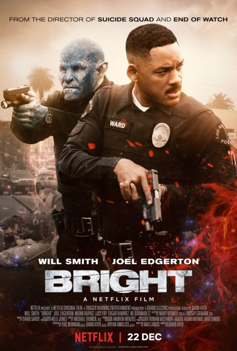 Bright on Netflix official poster