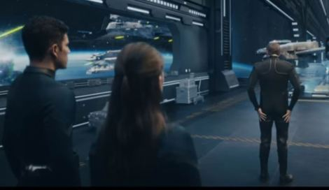 Shot from GEICO Star Captain commercial