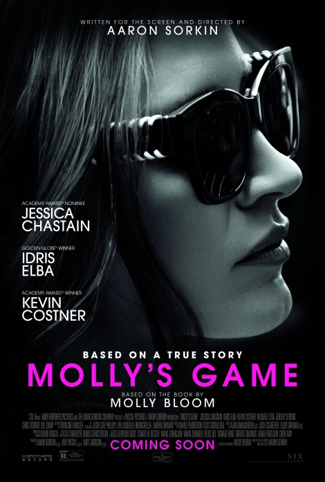Molly's Game movie poster