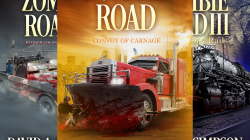 Zombie Road Trilogy book covers