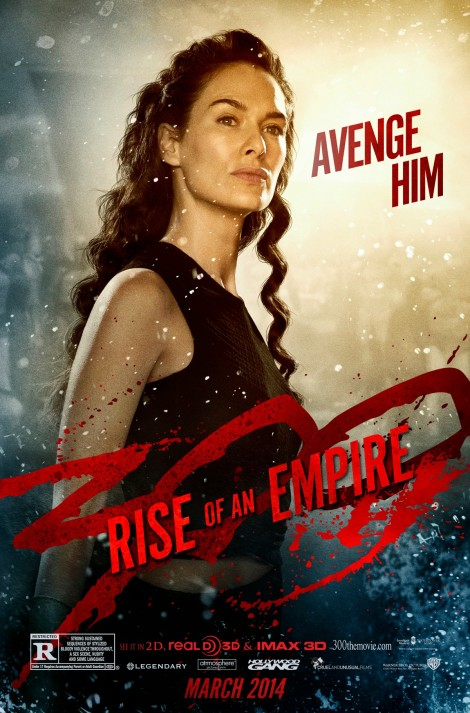 300: Rise of An Empire - Gorgo's Avenge poster