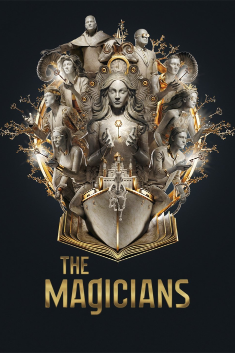 The Magicians tv poster from Syfy