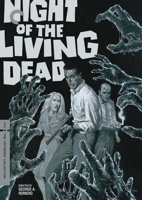 Night of the Living Dead movie poster - Criterion Collection cover