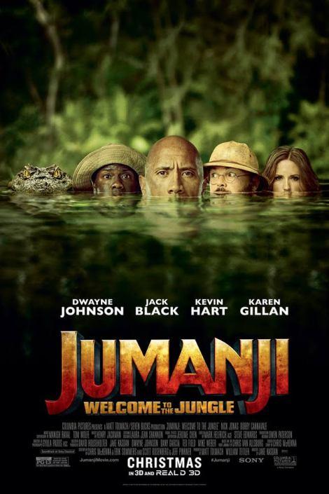 Jumanji: Welcome to the Jungle movie poster