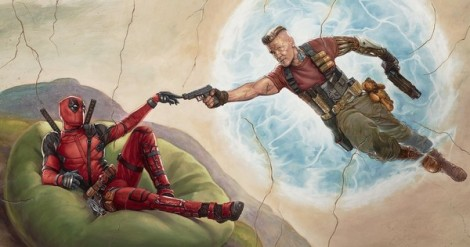 Deadpool and Cable as Man and God