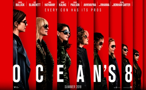 Ocean's 8 movie promo picture