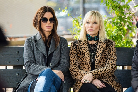 Ocean's 8 just Debbie and Lou.