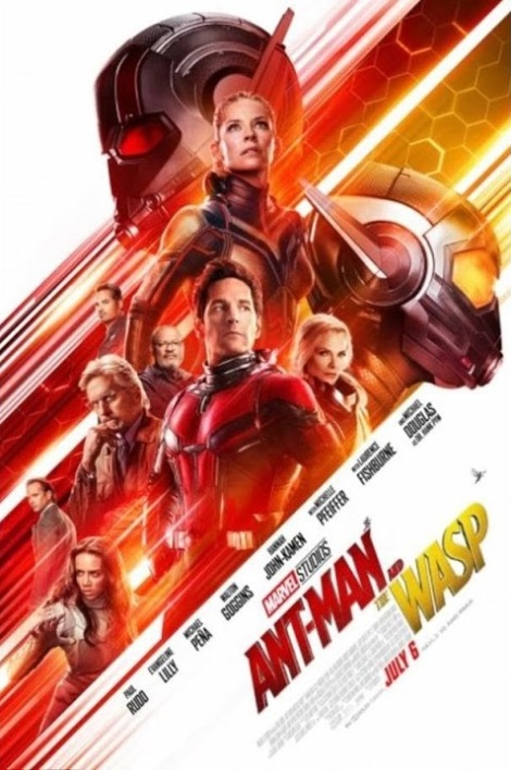 The Ant-Man and the Wasp movie poster