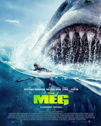The Meg movie poster
