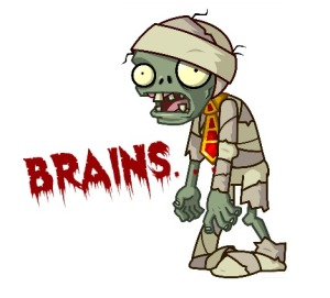 Zombie from Plants vs. Zombies