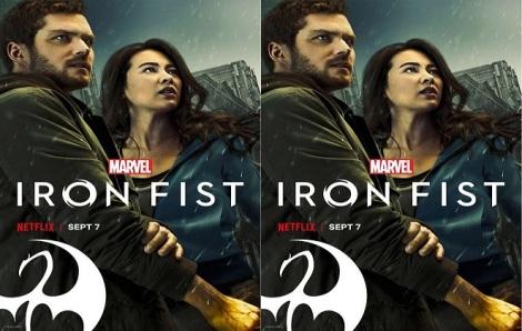Iron Fist Season 2 double poster.
