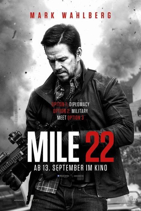 Mile 22 movie poster