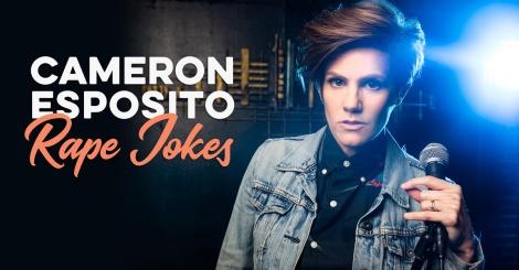 Cameron Esposito Rape Jokes logo image