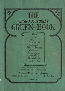 The Negro Motorist Green Book cover