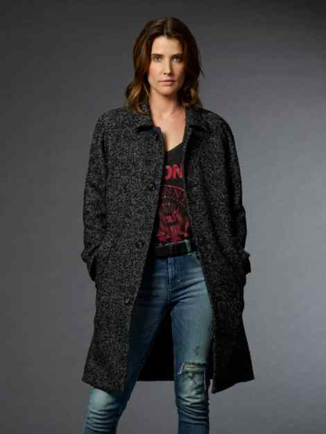 Cobie Smulders as Dex from Stumptown.