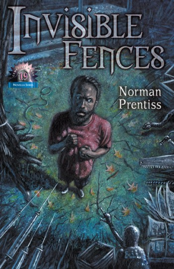 Invisible Fences novella cover by Norman Prentiss