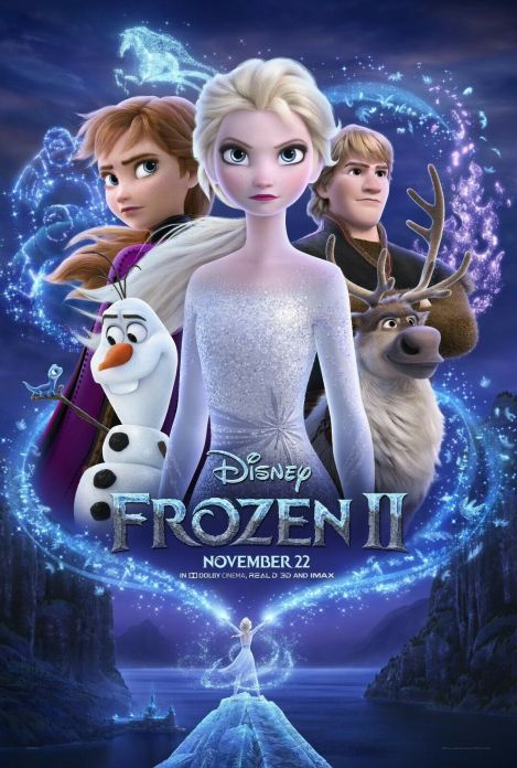 Frozen 2 official movie poster