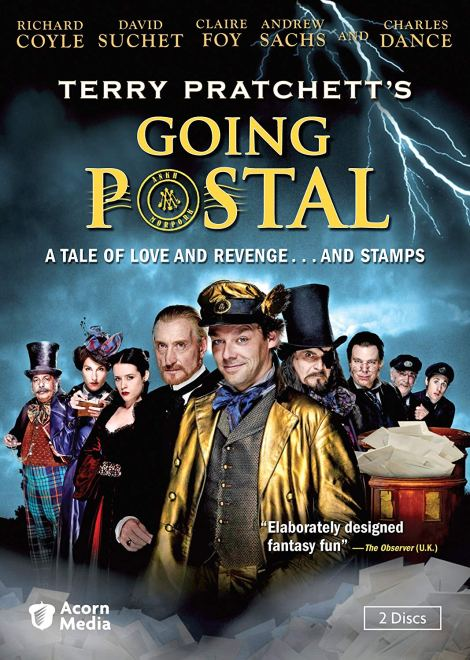 Going Postal TV miniseries poster