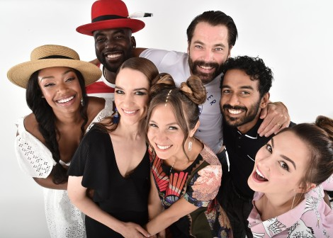 Cast of Wynnona Earp at San Diego Comic Con 2018