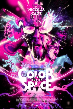 The Color Out of Space movie poster 2019.