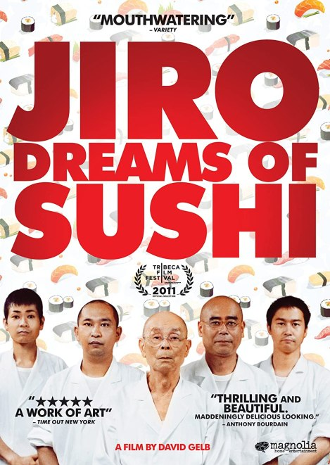 Jiro Dreams of Sushi movie poster.