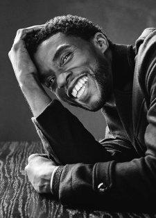 Chadwick Boseman, portrait