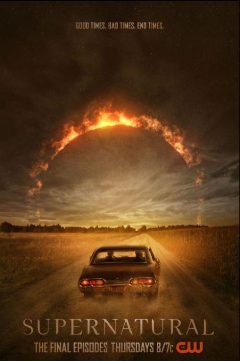Supernatural End Times poster