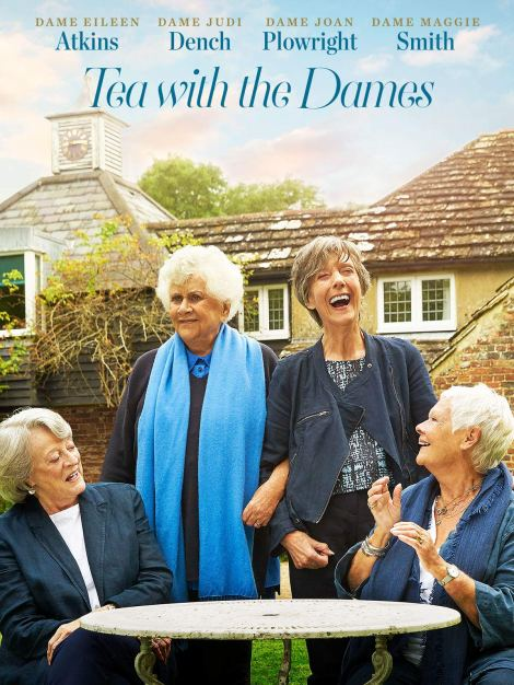 Tea With The Dames movie poster