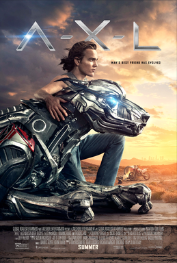 A-X-L official movie poster.