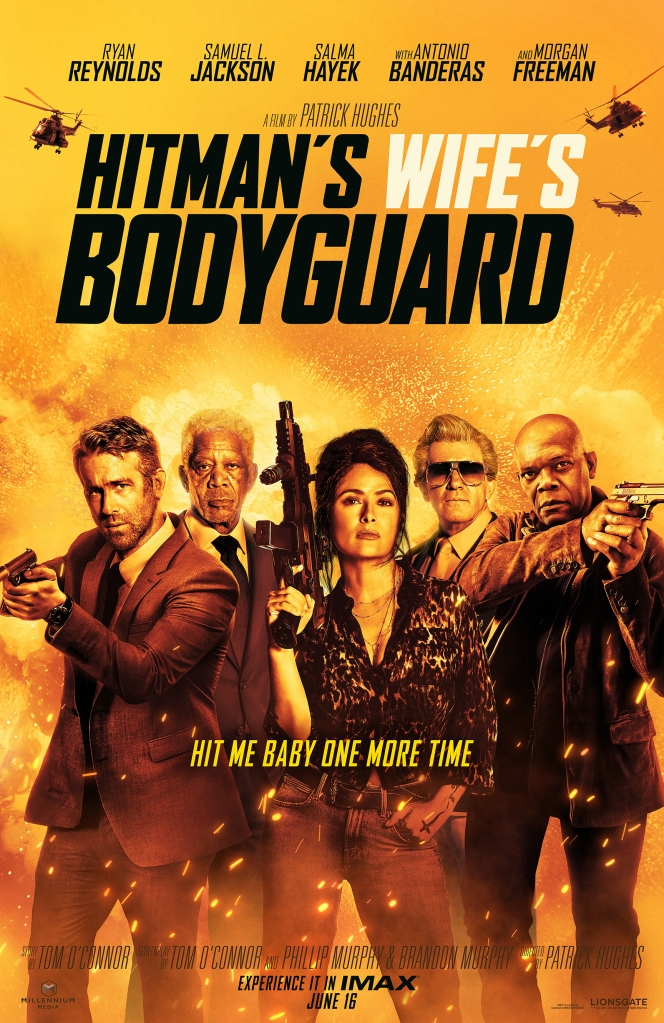 The Hitman's Wife's Bodyguard movie poster.