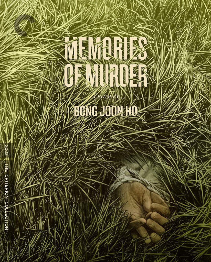 Memories of Murder movie poster from Korea