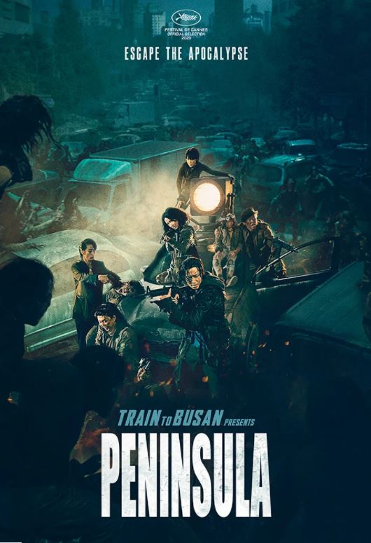 Train to Busan: Peninsula movie poster