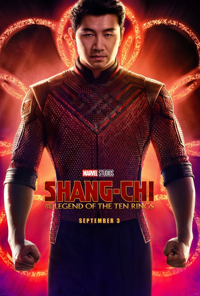 Shang-Chi and the Legend of the Ten Rings movie poster.